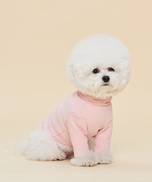 COZY WARM TURTLENECK (BABY PINK)