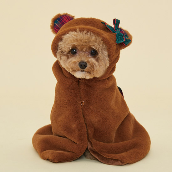 CHACHA BLANKET (TEDDY BEAR)